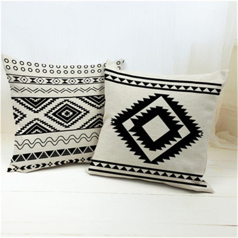 coussin ethnique housse de coussin. Black Bedroom Furniture Sets. Home Design Ideas