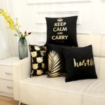 coussin keep calm and carry