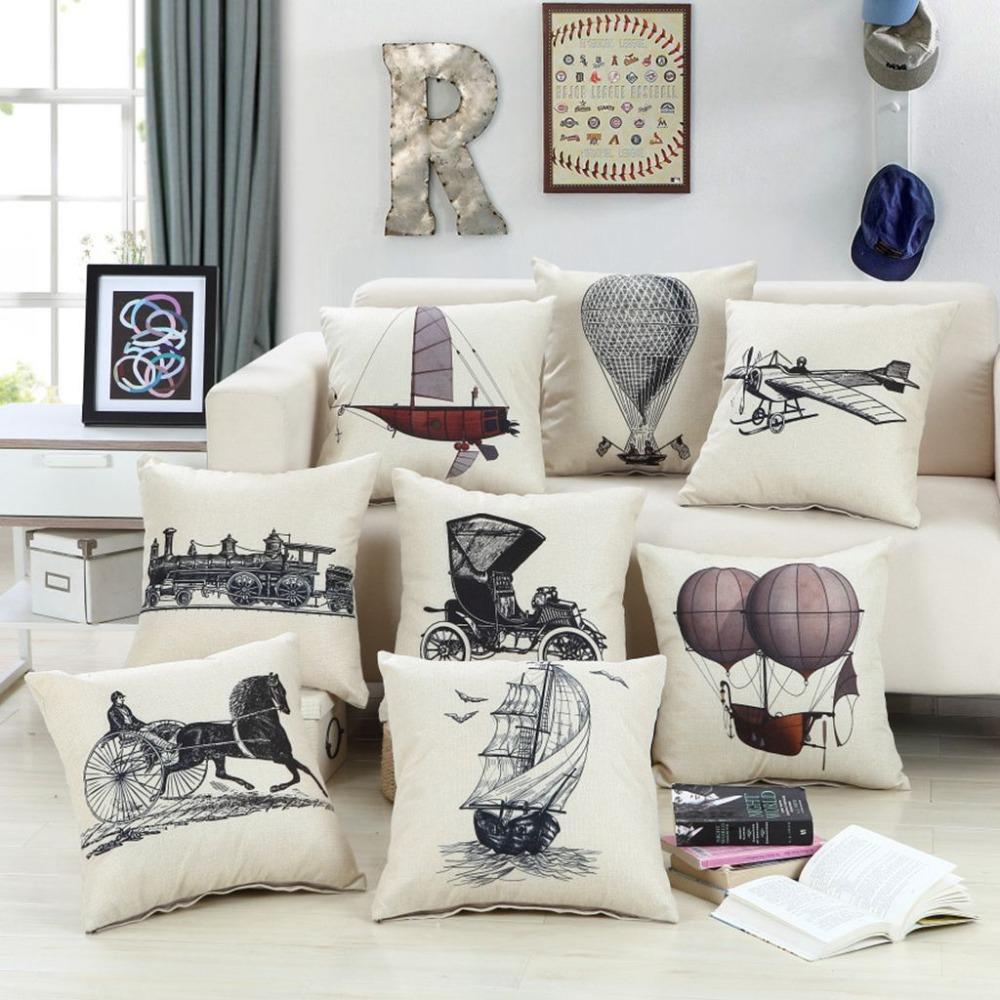 coussin industriel. Black Bedroom Furniture Sets. Home Design Ideas