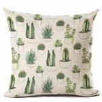 Collection Housse de coussin Cactus print