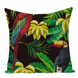 Housse de coussin tropical night 1