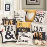Housse de coussin yellow & full collection