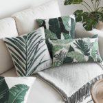 Housse de coussin collection classique tropicale