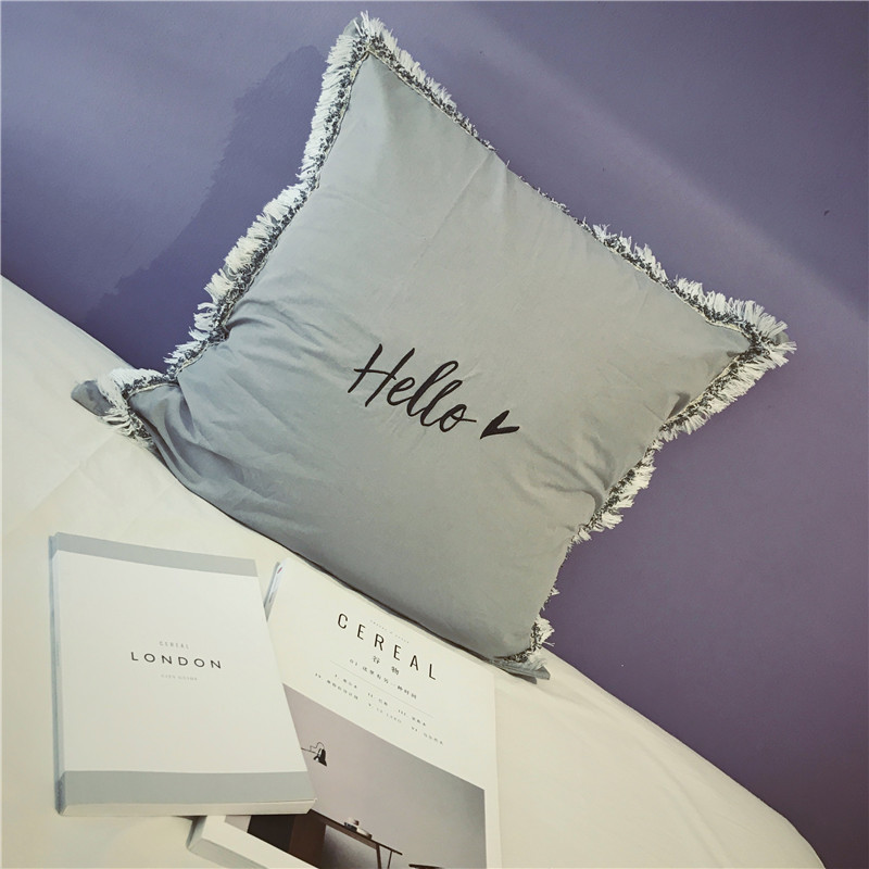 Housse de coussin collection hello darling