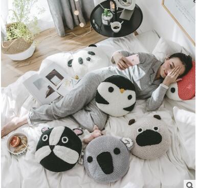 Coussin panda et compagnie