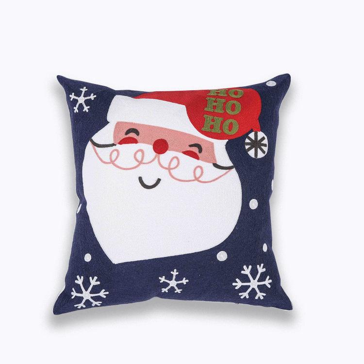 Housses de coussin Noël Ho Ho Ho