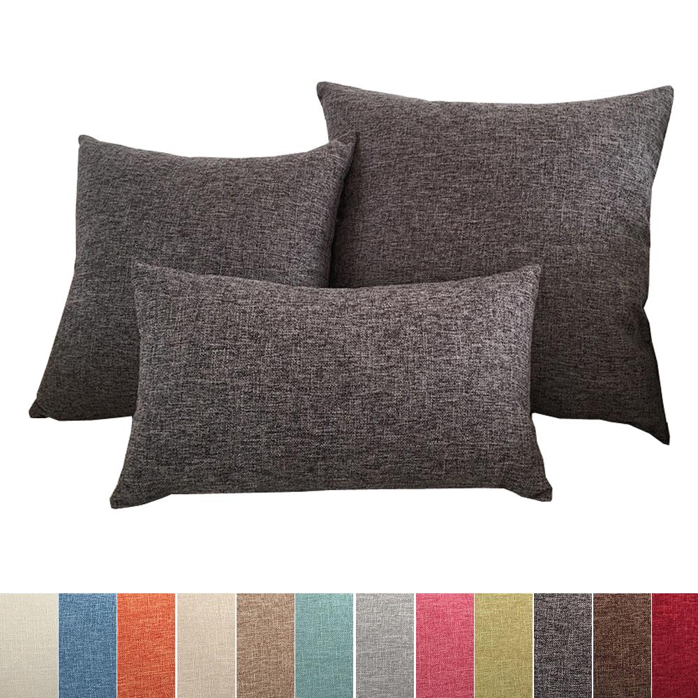 Housse de coussin 60x60 pour canapé