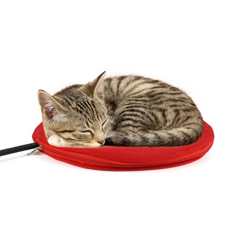 Coussin pour chat chauffant