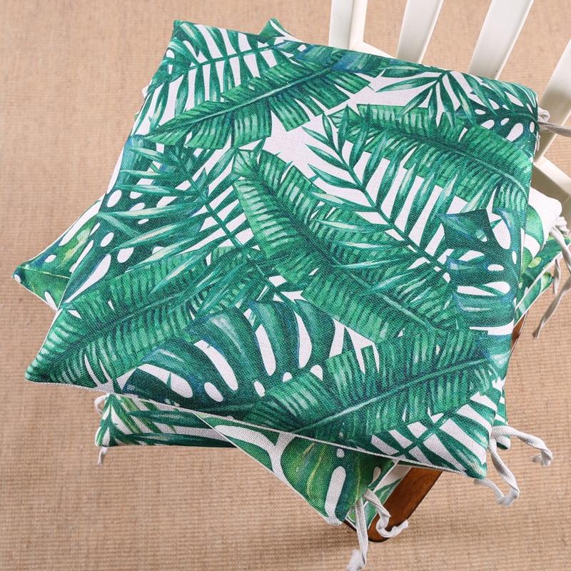 Coussin de chaise tropical