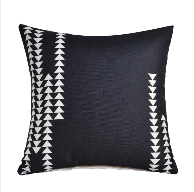 Housse de coussin collection black arrow