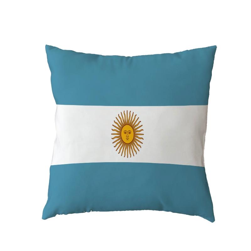 Housse de coussin drapeaux du monde 1