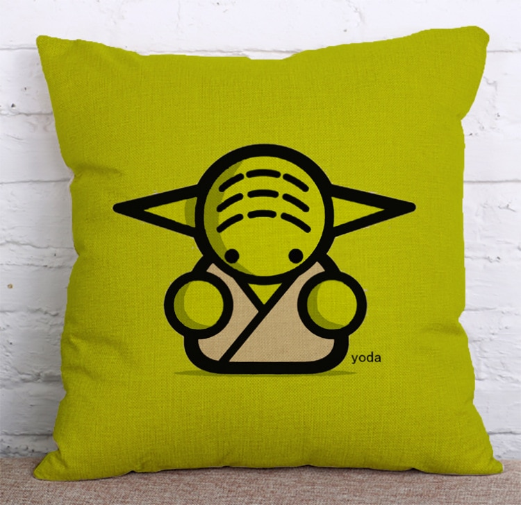 Housse de coussin collection star geek 2