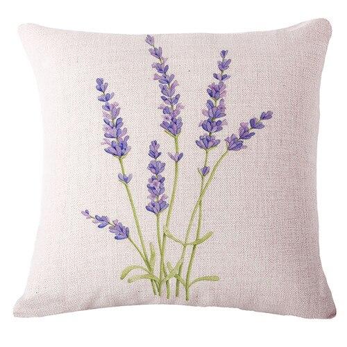Housse de coussin fleurs de Provence 5